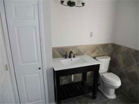 Roll Under Vanity for Wheelchair Access